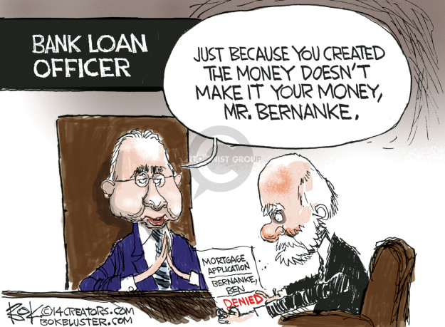 Chip Bok  Chip Bok's Editorial Cartoons 2014-10-07 Financial Market