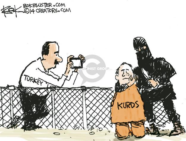 Chip Bok  Chip Bok's Editorial Cartoons 2014-10-12 conflict