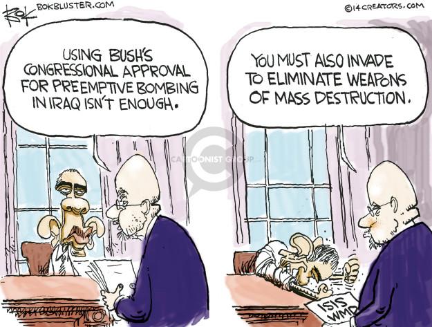 Cartoonist Chip Bok  Chip Bok's Editorial Cartoons 2014-10-21 Iraq