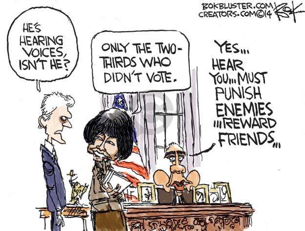 Cartoonist Chip Bok  Chip Bok's Editorial Cartoons 2014-11-11 2014