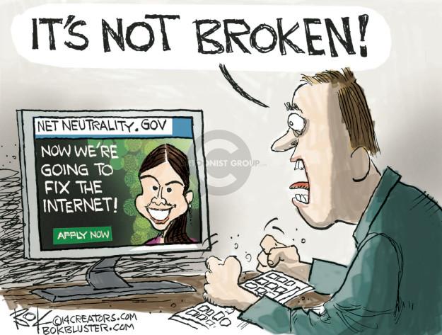 Chip Bok  Chip Bok's Editorial Cartoons 2014-11-15 Obama administration
