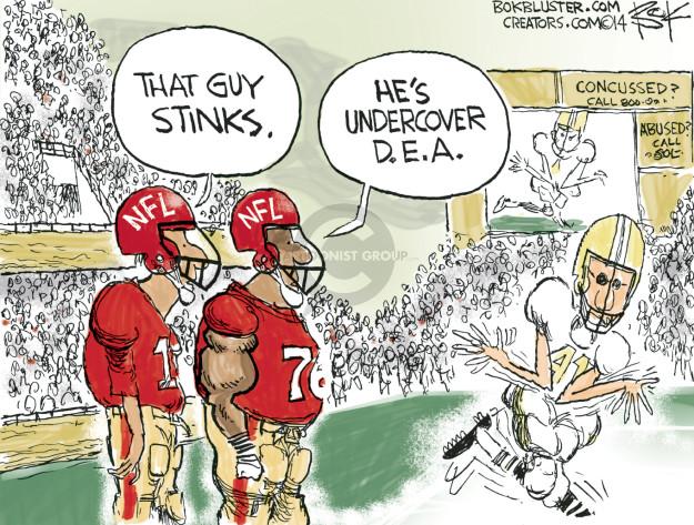 Cartoonist Chip Bok  Chip Bok's Editorial Cartoons 2014-11-19 enforcement