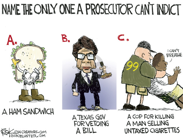 Cartoonist Chip Bok  Chip Bok's Editorial Cartoons 2014-12-04 judicial branch
