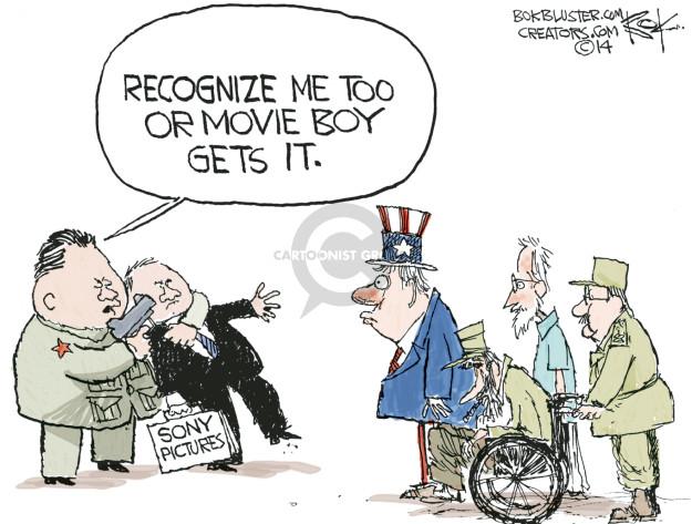 Cartoonist Chip Bok  Chip Bok's Editorial Cartoons 2014-12-19 breach