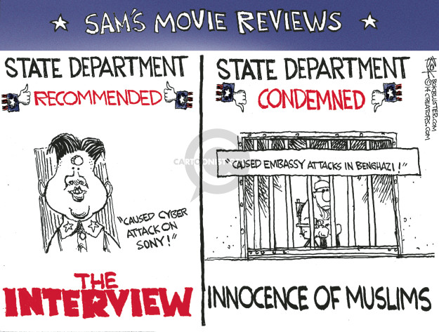 Chip Bok  Chip Bok's Editorial Cartoons 2014-12-31 American