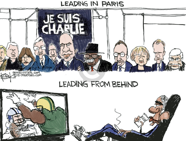 Cartoonist Chip Bok  Chip Bok's Editorial Cartoons 2015-01-12 France