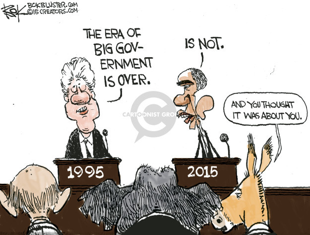 Chip Bok  Chip Bok's Editorial Cartoons 2015-01-22 eras