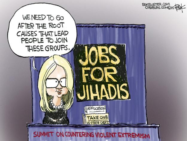 Chip Bok  Chip Bok's Editorial Cartoons 2015-02-18 Islam