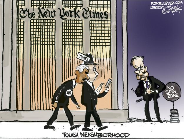 Chip Bok  Chip Bok's Editorial Cartoons 2015-02-26 fox