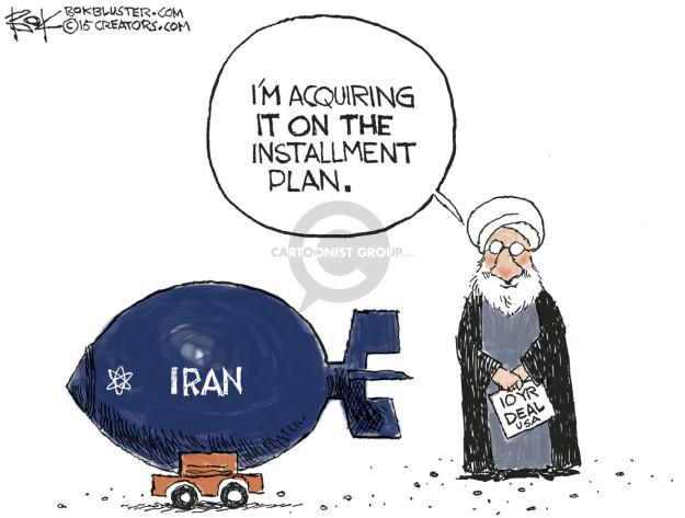 Chip Bok  Chip Bok's Editorial Cartoons 2015-03-02 Iran
