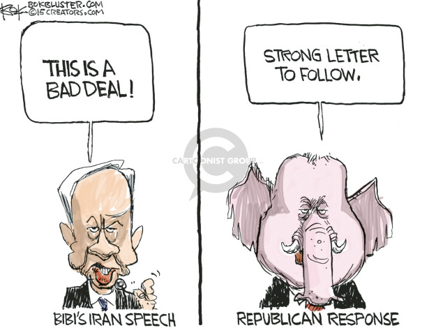 Cartoonist Chip Bok  Chip Bok's Editorial Cartoons 2015-03-13 legislative branch