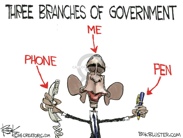 Chip Bok  Chip Bok's Editorial Cartoons 2015-04-01 branch of government