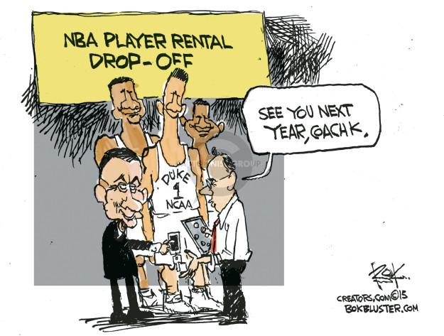 Cartoonist Chip Bok  Chip Bok's Editorial Cartoons 2015-04-22 NBA