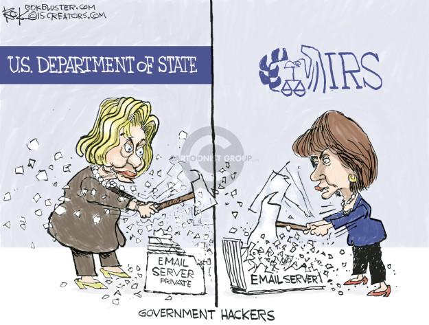 Cartoonist Chip Bok  Chip Bok's Editorial Cartoons 2015-05-12 IRS