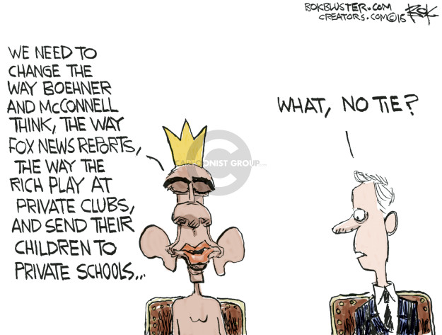 Chip Bok  Chip Bok's Editorial Cartoons 2015-05-13 fox
