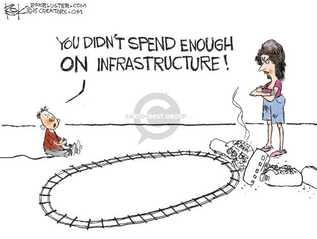 Chip Bok  Chip Bok's Editorial Cartoons 2015-05-14 federal budget