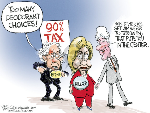 Chip Bok  Chip Bok's Editorial Cartoons 2015-05-27 president