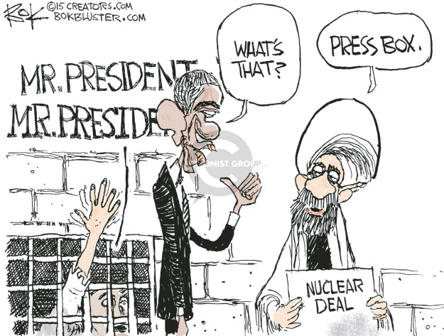 Chip Bok  Chip Bok's Editorial Cartoons 2015-05-28 ayatollah