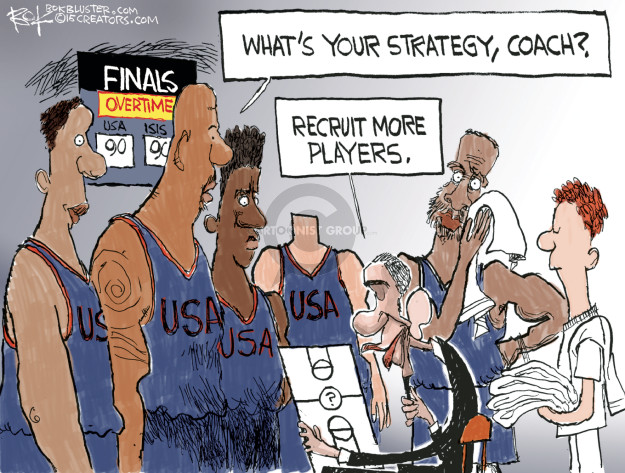 Chip Bok  Chip Bok's Editorial Cartoons 2015-06-09 president