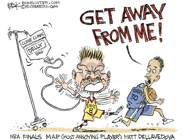 Cartoonist Chip Bok  Chip Bok's Editorial Cartoons 2015-06-10 NBA