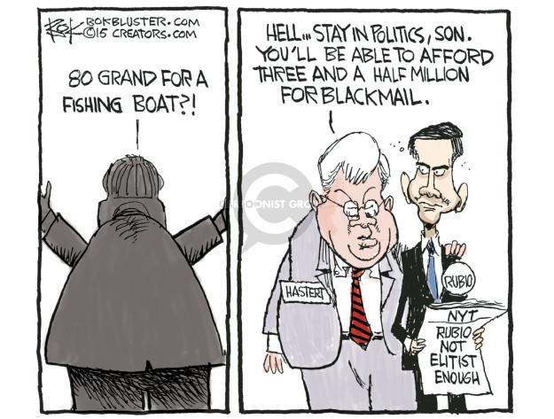 Cartoonist Chip Bok  Chip Bok's Editorial Cartoons 2015-06-11 payment