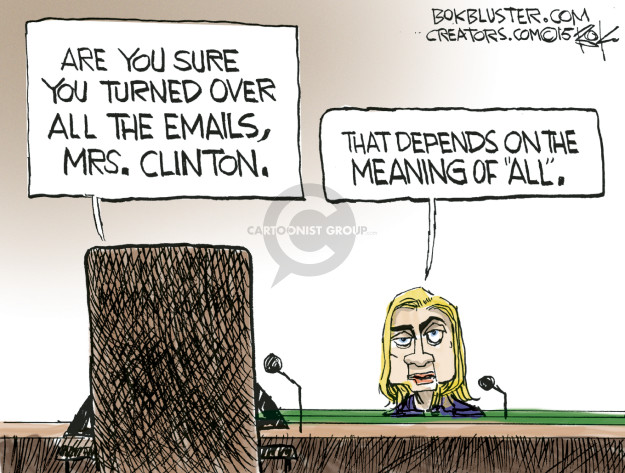 Cartoonist Chip Bok  Chip Bok's Editorial Cartoons 2015-06-18 Benghazi