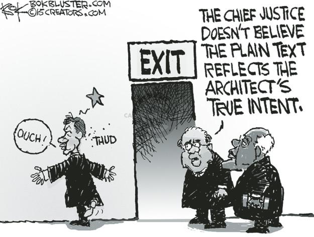 Cartoonist Chip Bok  Chip Bok's Editorial Cartoons 2015-06-30 legal
