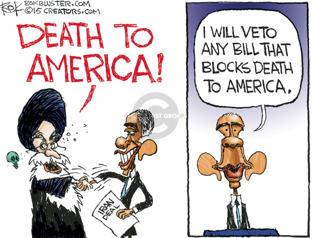 Chip Bok  Chip Bok's Editorial Cartoons 2015-07-23 ayatollah