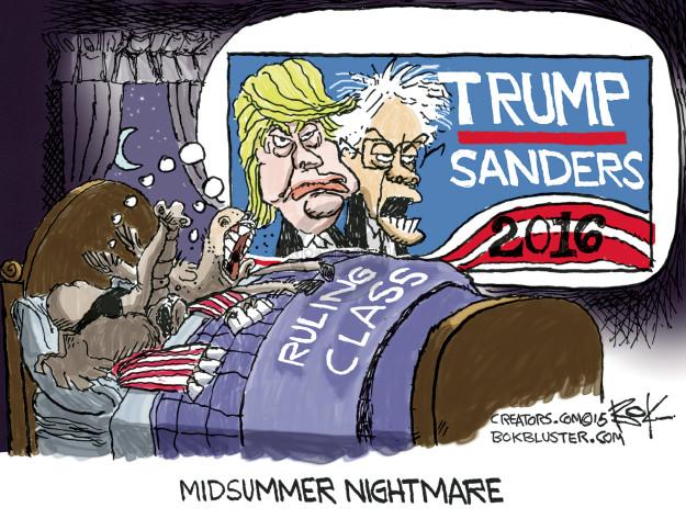 Chip Bok  Chip Bok's Editorial Cartoons 2015-08-14 republican party