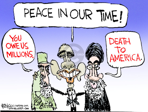 Cartoonist Chip Bok  Chip Bok's Editorial Cartoons 2015-08-19 peace