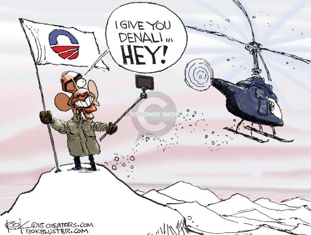 Cartoonist Chip Bok  Chip Bok's Editorial Cartoons 2015-08-31 Barack Obama selfie
