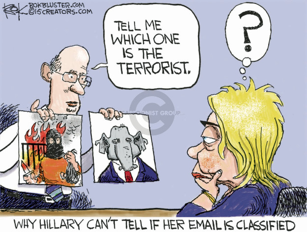Chip Bok  Chip Bok's Editorial Cartoons 2015-09-03 classified information