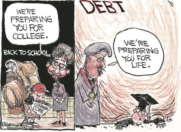 Cartoonist Chip Bok  Chip Bok's Editorial Cartoons 2015-09-07 editorial
