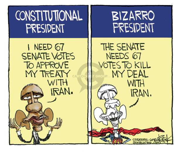 Chip Bok  Chip Bok's Editorial Cartoons 2015-09-14 presidential administration