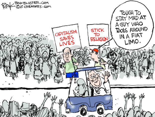 Cartoonist Chip Bok  Chip Bok's Editorial Cartoons 2015-09-24 vehicle