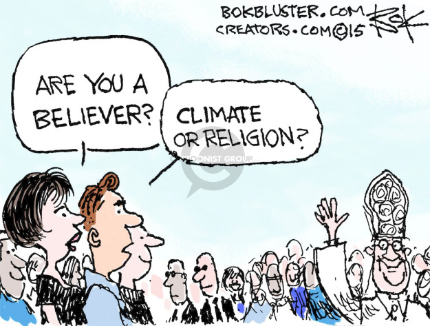 Cartoonist Chip Bok  Chip Bok's Editorial Cartoons 2015-09-28 global warming