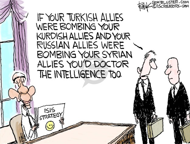 Chip Bok  Chip Bok's Editorial Cartoons 2015-10-03 Syria conflict