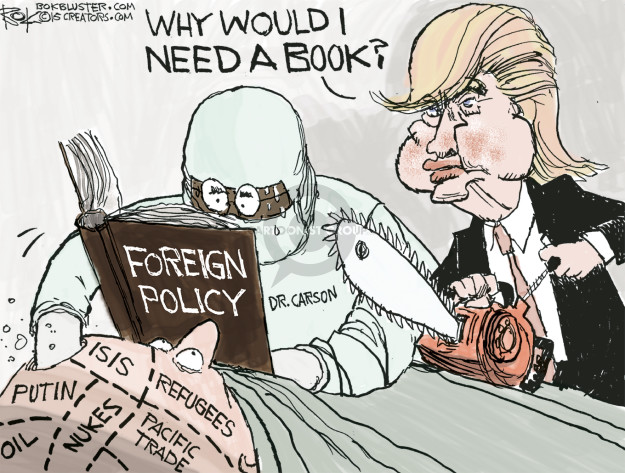 Cartoonist Chip Bok  Chip Bok's Editorial Cartoons 2015-11-14 policy