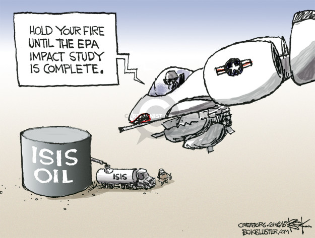 Chip Bok  Chip Bok's Editorial Cartoons 2015-12-01 oil