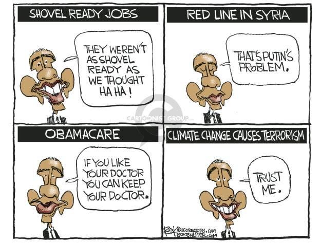Cartoonist Chip Bok  Chip Bok's Editorial Cartoons 2015-12-07 Barack Obama Vladimir Putin Syria