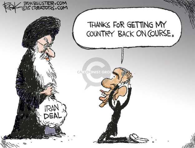 Chip Bok  Chip Bok's Editorial Cartoons 2016-01-15 Iran