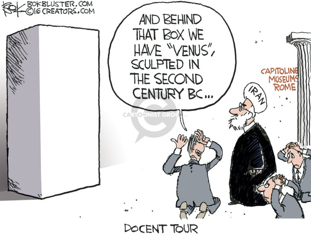 Chip Bok  Chip Bok's Editorial Cartoons 2016-01-28 Iran