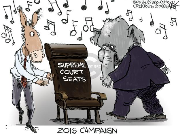 Supreme Court seats. 2016 Campaign.