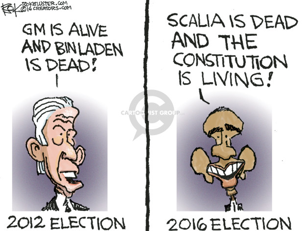 Chip Bok  Chip Bok's Editorial Cartoons 2016-02-24 2012 election