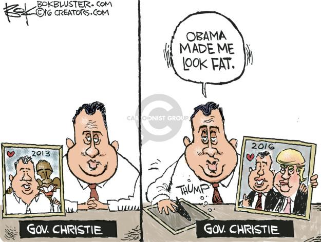 Cartoonist Chip Bok  Chip Bok's Editorial Cartoons 2016-03-01 Barack Obama