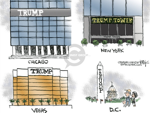 Chip Bok  Chip Bok's Editorial Cartoons 2016-03-02 Trump Tower