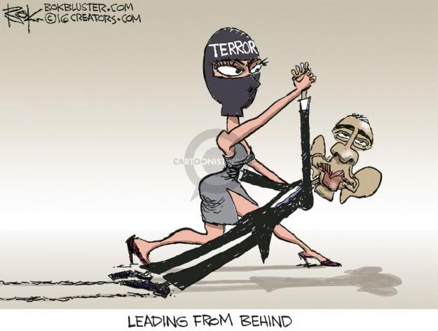 Cartoonist Chip Bok  Chip Bok's Editorial Cartoons 2016-03-28 Barack Obama