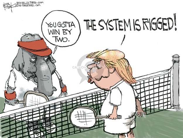 You gotta win by two. The system is rigged!