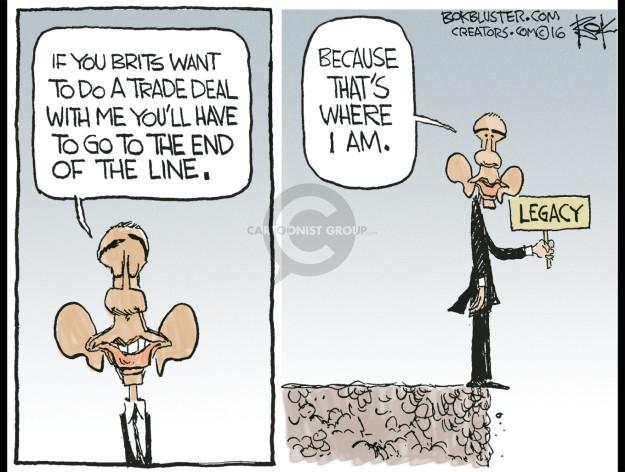 Cartoonist Chip Bok  Chip Bok's Editorial Cartoons 2016-04-25 presidential administration