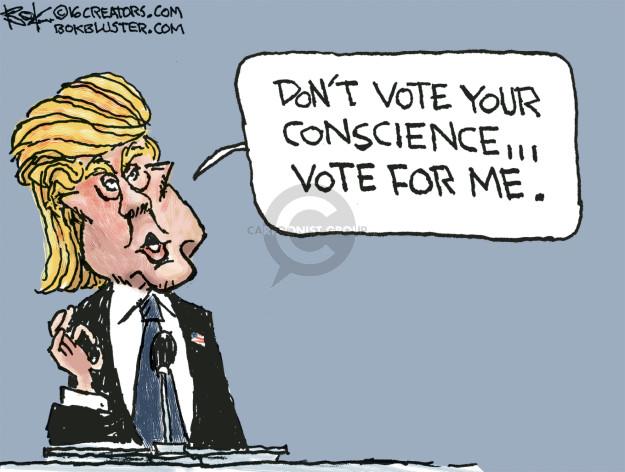 Cartoonist Chip Bok  Chip Bok's Editorial Cartoons 2016-07-21 campaign